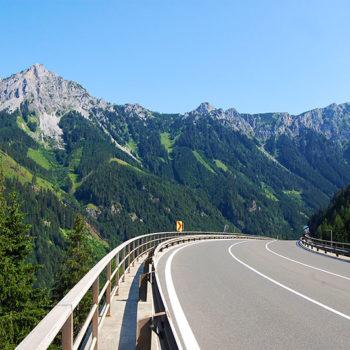 Nationalpark & Eisenstrasse - Erzbergblick, Steiermark, Østerrike - Nationalpark & Eisenstrasse, På bilferie i Østerrike