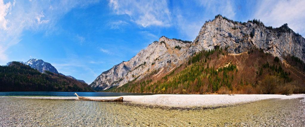 Østerrikes beste omveier - Leopolsteiner See, Steiermark, Østerrike - Nationalpark Gesaüse & Steirische Eisenstrasse