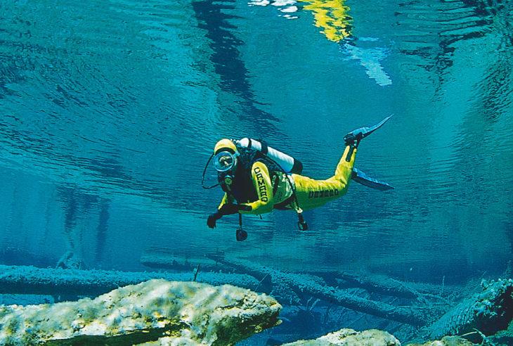 Dykking og snorkling i Østerrike