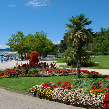 Klagenfurt, Wörthersee, Kärnten, Østerrike