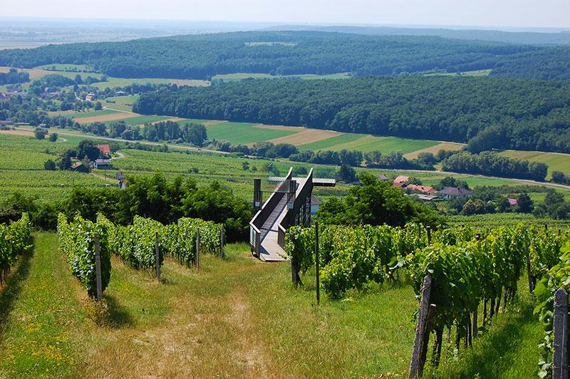 Østerrikes fineste utsiktspunkter - Eisenberg, Burgenland, Østerrike