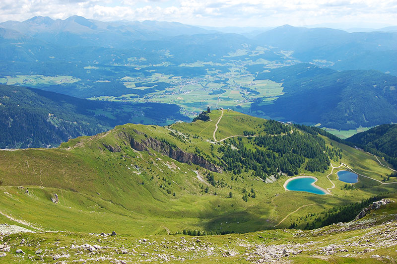 Østerrikes fineste utsiktspunkter - Speiereck, Salzburg, Østerrike