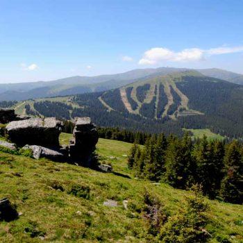 Weinebene, Kärnten, Steiermark, Østerrike