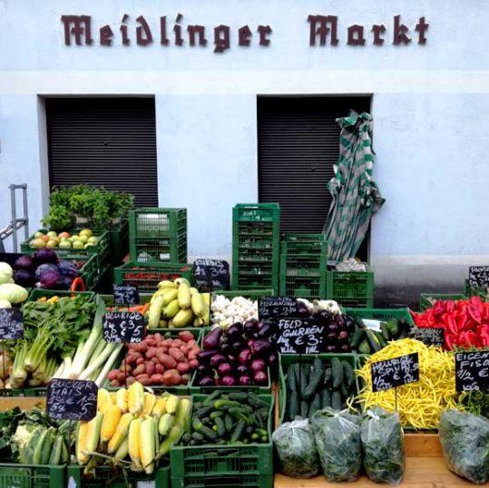 Opplev Wiens fargerike markeder -Meidlinger Markt, Wien, Østerrike