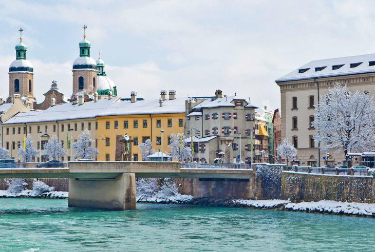 Innsbruck - alpenes hovedstad, Østerrike