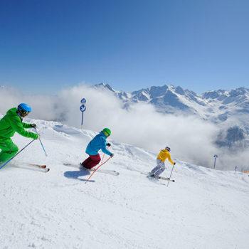 Alpinparadiset St.Anton, Tirol, Østerrike