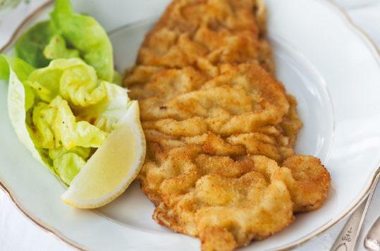 Wienerschnitzel, nasjonalrett, matoppskrifter fra Østerrike Spesialisten