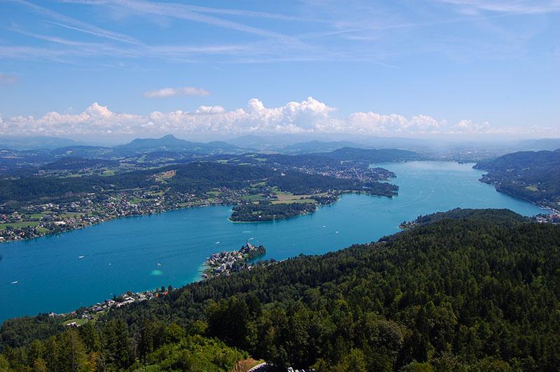 Østerrikes fineste utsiktspunkter - Pyramidenkogel, Kärnten, Østerrike