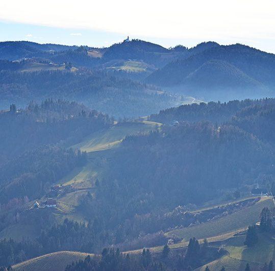 Sør-Steiermark, Østerrike, Slovenia
