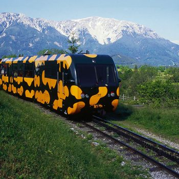 På togreise i Østerrike, Schenneberg, Niederösterreich
