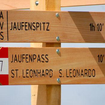 Jaufenpass, Syd-Tirol, Italia