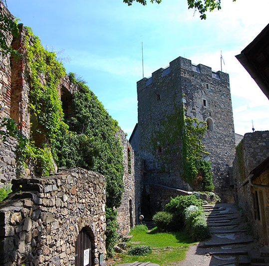 Burgruine Gösting, severdigheter rundt Graz, Steiermark, Østerrike