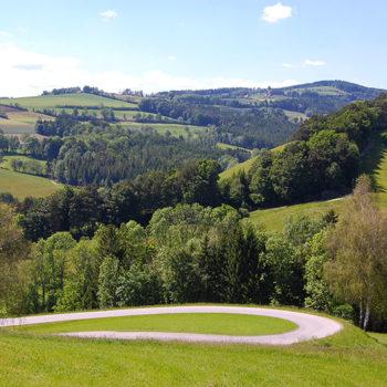 Bucklige Welt, Niederösterreich, Østerrike.