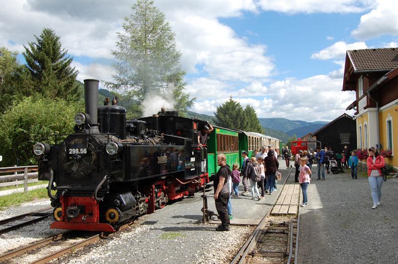 Taurachbahn, Lungau, Salzburg, Østerrike