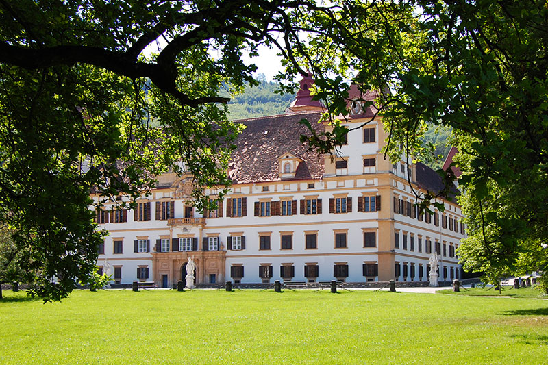 Schloss Eggenberg, severdigheter rundt Graz, Steiermark, Østerrike