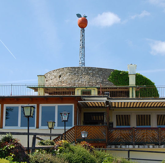 Aussichtswarte Fürstenstand, Severdigheter rundt Graz, Steiermark, Østerrike
