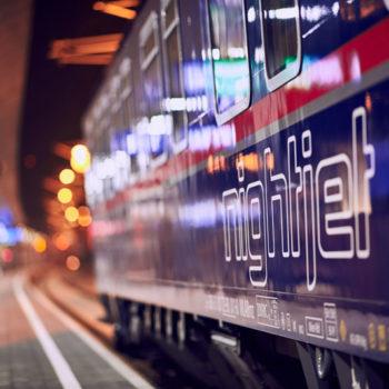 På togreise i Østerrike, Nightjet