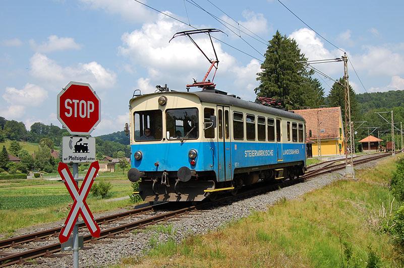 På togreise i Østerrike, Steiermärkischen Landesbahnen, Steiermark
