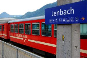 På togreise i Østerrike, Zillertalbahn, Tirol