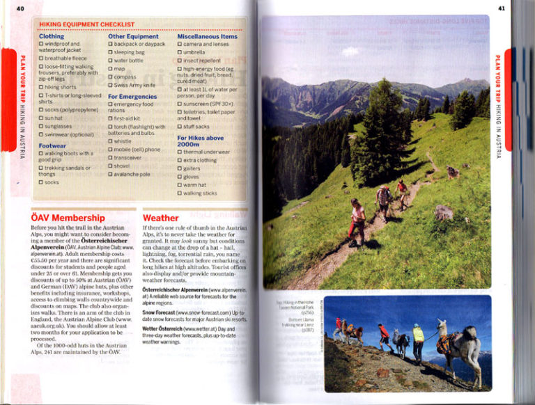 Boktips fra Østerrike Spesialisten for Austria - Lonely Planet - travel guidebook - bokanmeldelse