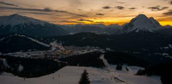 Vintersportferie i VM-byen Seefeld, Tirol, Østerrike