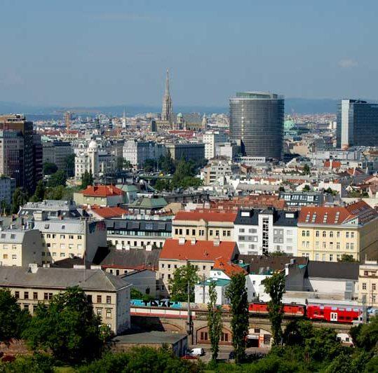 Wiener Riesenrad, De beste utsiktspunktene i Wien, Østerrike
