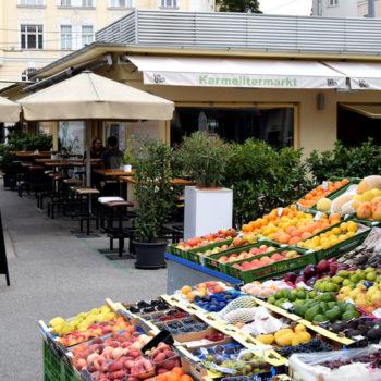Opplev Wiens fargerike markeder - Karmelitermarkt, Leopoldstadt, Wien, Østerrike