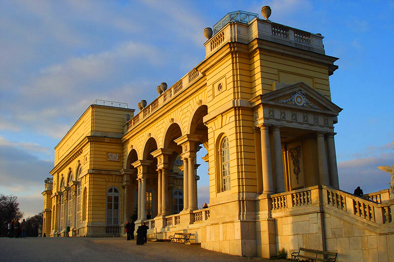 Gloriette, Schönbrunn, Wien, Østerrike