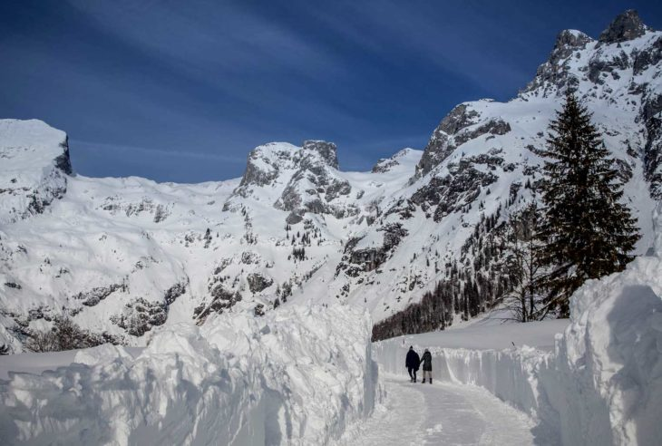 Werfenweng, Vintervandring i Østerrike