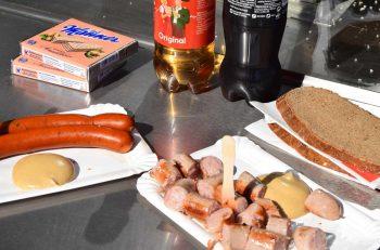 Wiener Würstelstand - på pølsefest i Wien, Østerrike