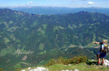 Hochlantsch, Alemenland, Steiermark, Østerrike