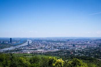 Panorama utsikt til Wien, Østerrike - Private guidede turer