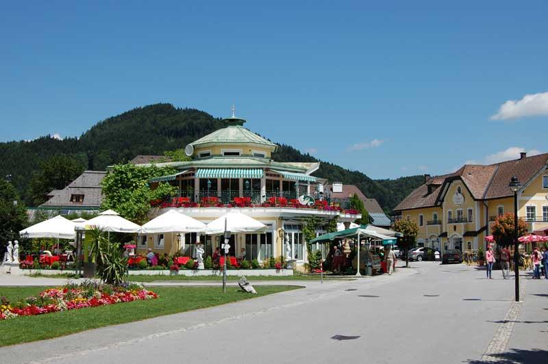 Østerrikes koseligste landsbyer - St. Gilgen, Salzkammergut, Østerrike
