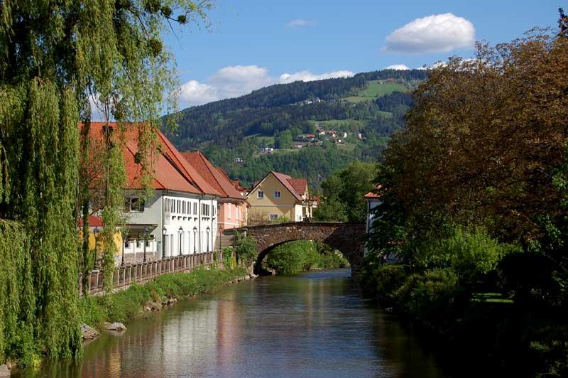 Wolfsberg, Lavvantal, Kärnten, Østerrike